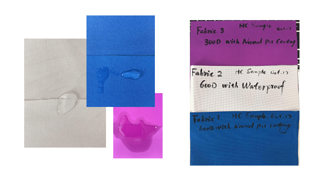 PetBloon Fabric Samples